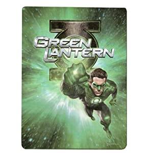 green lantern twin luxury plush blanket