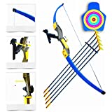 WantLala Archery Youth Recurve Bow and Arrow, Included Integrated Laser and Target