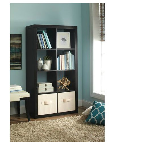 Organizer 8 Cube Eight Book Shelves Square Storage Bookcase Cubicle Bedroom Tidy Ebay