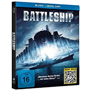Battleship Steelbook [Blu-ray] [Import allemand]