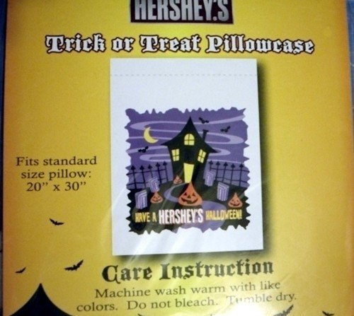 Herseys TRICK or TREAT Pillowcase - Have a Herseys Halloween Pillowcase/Treat Sack