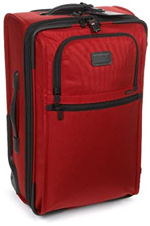 "Tumi Alpha Frequent Traveler 22"" Zippered Expandable Carry-on 022922RH,Red,one size"