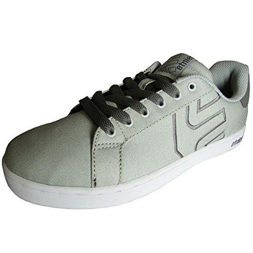 Etnies Men's Fader LS Skateboard Shoe, Light Grey/Dark Grey, 11 M US