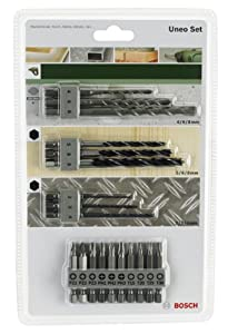 Bosch DIY Uneo Set 19-teilig, 2609256989