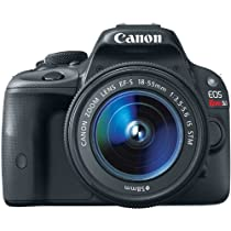 Canon EOS Rebel SL1 18.0 MP CMOS Digital SLR with EF-S 18-55mm IS STM Lens