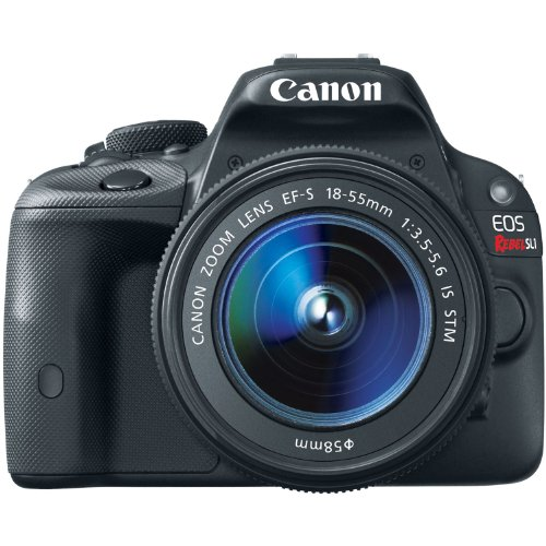 For Sale Canon EOS Rebel SL1 18.0 MP CMOS Digital SLR with EF-S 18-55mm IS STM Lens  Review