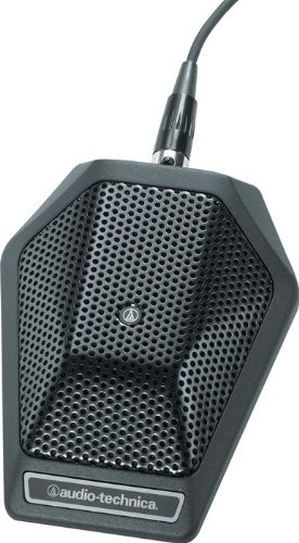 Audio Technica Unipoint Cardioid Condenser Boundary Microphone In Black With Switch