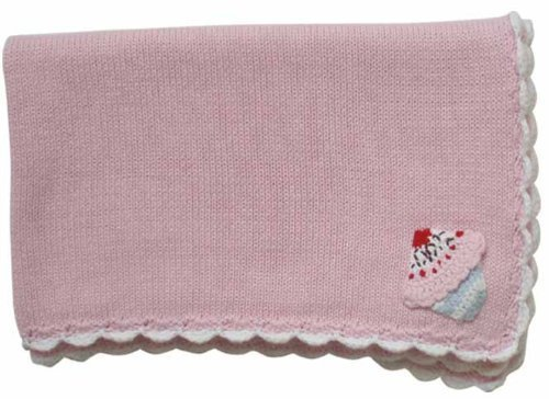 Hand Knitted Baby Blanket back-338918