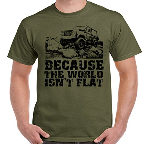 because-the-world-isnt-flat-defender-mens-funny-t-shirt-spx3-militarygreen