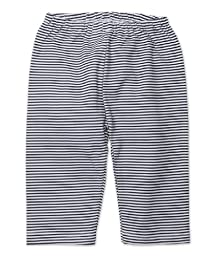 Zutano Unisex Baby Candy Stripe Pant, Black, 12 Months