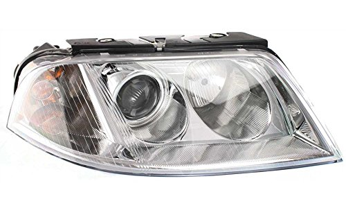 Evan-Fischer EVA13572012267 New Direct Fit Headlight for Volkswagen Passat 01-05 Assembly Halogen New Body Style With Bulb(s) Passenger Side Replaces Partslink# VW2503118 (01 Vw Passat Headlight Assembly compare prices)