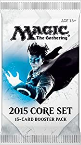 MTG Magic the Gathering Card Game M15 2015 Core Set Manufacturer-Sealed Booster Pack - 15 Cards