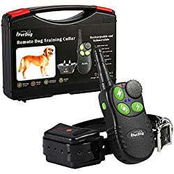 iPetDog iT828 Dog Training Remote Collar LCD Waterproof Beep Vibra 600 Yards Rechargeable Rainproof