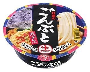 日清のごんぶと 天ぷらうどん 209g×12個