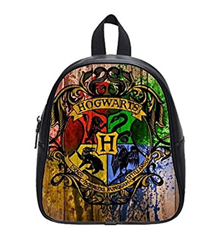 LilyFavor Harry Potter Hogwarts Custom Zaino Shouder School Borsa Black(L)