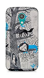 Amez designer printed 3d premium high quality back case cover for Motorola Moto G2 (Fabula kazumbo mas)