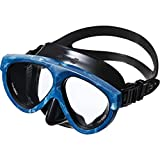 GULL マスク マンティス5 ブラックシリコン GM-1036 CAMO BLUE