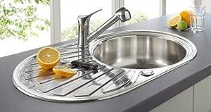 ROCASA Edelstahlspüle »Roma« Silberfarben  BaumarktKundenbewertung und Beschreibung