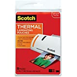 Scotch Thermal Laminating Pouches, 5 Inches x 7 Inches, 40 Pouches