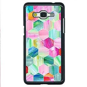 EYP Hexagon Pattern Back Cover Case for Samsung Grand Prime