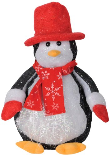 Beistle 1-Pack Light-Up Penguin, 14-Inch