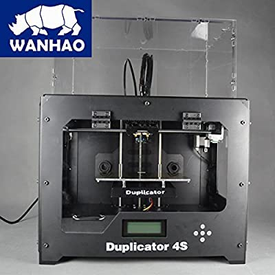 Wanhao Duplicator 4S 3D-Drucker Metal Schwarz Box mit zwei Extruder
