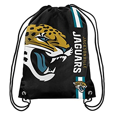 NFL Football Drawstring Backpack Gym Back Pack Sack Bag Tote Striped Big Logo