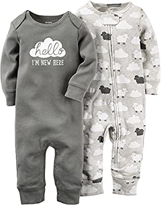 Carter's Baby Boys' 2 Pack Jumpsuits (Baby) by Carters that we recomend personally.
