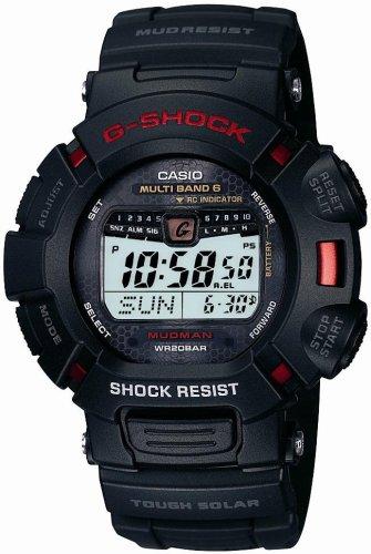 CASIO (カシオ) 腕時計 G-SHOCK MUDMAN RS タフソーラー 電波時計 MULTIBAND6 GW-9010-1JF