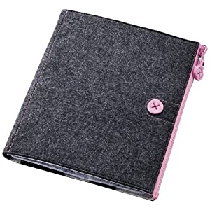Elecom TB-A11MCFBK Felt Case for iPad2 (Black)