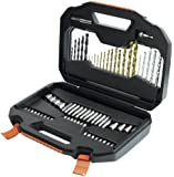 Black & Decker A7184 Titanium Drilling and Screwdriver Bit Accessory Set (70 Piece)