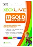 Xbox LIVE 12 Month Gold Membership revision