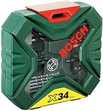 Comprar Bosch 2 607 010 608 - Maletín X-Line de 34 unidades para taladrar y atornillar - 172 x 46 x 164