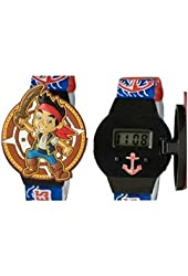 Jake and the Neverland Pirates Digital LCD Watch with Flip Top