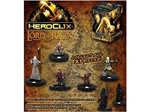 Lord of the Rings Heroclix Booster Box 24 Figures