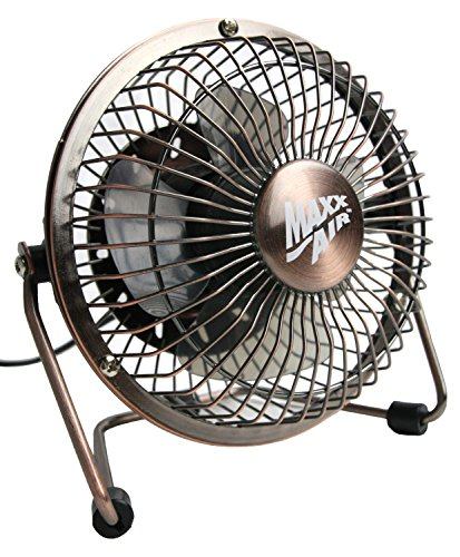 High Speed Fan Blades : Maxxair hvdf high velocity inch metal v desk fan with
