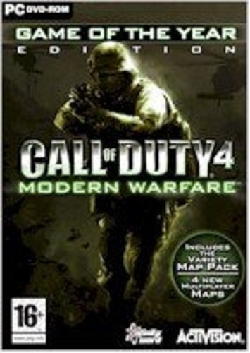 Call of Duty 4: Modern Warfare - Game of the Year Edition...
