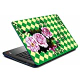 MeSleep Green Rose Laptop Skin