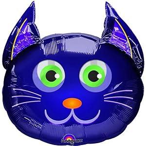 Tête de chat Ballon en aluminium Supershape: Jeux et