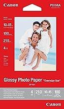 Comprar Canon GP-501 - Papel fotográfico con brillo (10 x 15 cm, 100 hojas, uso diario)