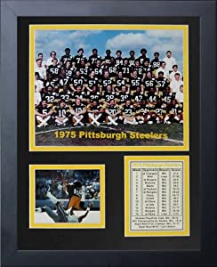 Legends Never Die 1975 Pittsburgh Steelers Framed Photo Collage, 11x14-Inch by Legends Never Die