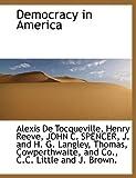 Democracy in America (1140554573) by Tocqueville, Alexis De