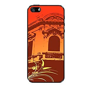 Vibhar printed case back cover for Apple iPhone 6 Plus OrangeWindow