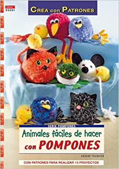Animales fáciles de hacer con pompones / Animals easy to make with