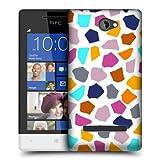 Head Case Giraffe Multi-coloured Animal Pattern Case For HTC Windows Phone 8S