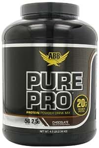 ABB Performance Pure Pro Powder, Chocolate, 58 servings, 4.5 Pounds