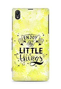 AMEZ enjoy the little things 2 Back Cover For Sony Xperia Z1 C6902