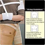 Rolyan Custom Hemi Arm Sling Right Straps, Size: Large, Acromion size: 28