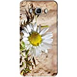 AMAN White Flower On Wood 3D Back Cover For Samsung Galaxy J7 2016
