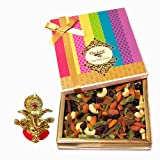 Chocholik Best Cocktail Dry Fruit Treat Of Dry Fruits, 400gm With Ganesha Idol - Chocholik Dry Fruits